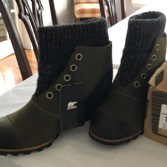 Sorel Shoes Womans Joanie Sweater Boots Poshmark
